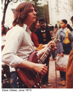 Dave Orban, circa 1973
