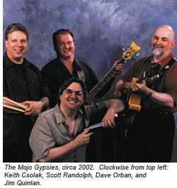 The Mojo Gypsies, circa 2002